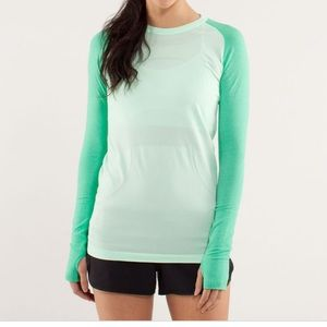 Lululemon run swiftly tech workout top